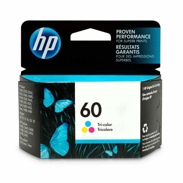HP 60 Tri-color Original Ink Cartridge (CC643WN)