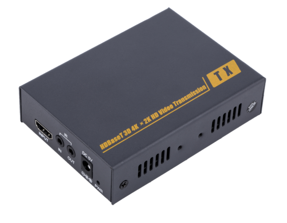HDMI+USB Extender 100 Meter, By Single UTP Cat6 Full HD 1080P 3D with IR Remote Control Signal  Support one to many by network switch | IW-10UIR
