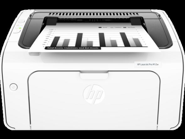 Printer HP LaserJet Pro M12w Wireless (T0L46A)