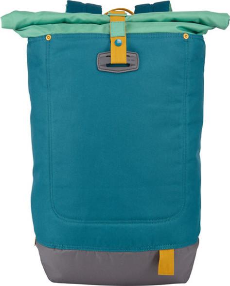 "Case Logic Larimer 14"" Rolltop Daypack, Hudson/Petrol Green   LARI-114"