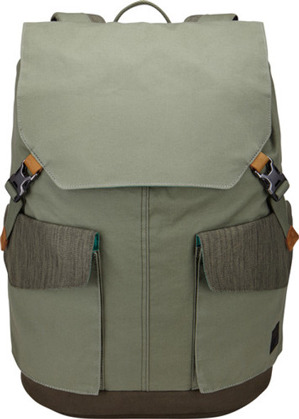 "Case Logic LoDo 15.6"" Large Backpack Dress Blue/ Grey/ Petrol Green | LODP-115"