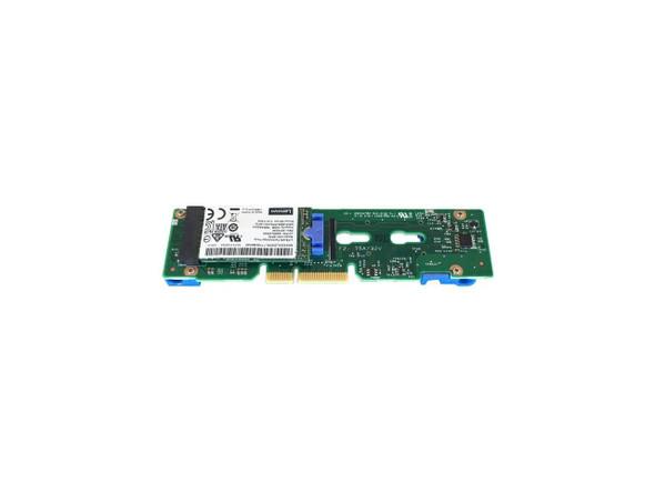 Lenovo Thinksystem M.2 Mirroring Enablement Kit - Storage Controller - M.2 - SATA 6Gb/S - 600 Mbps | 7Y37A01093