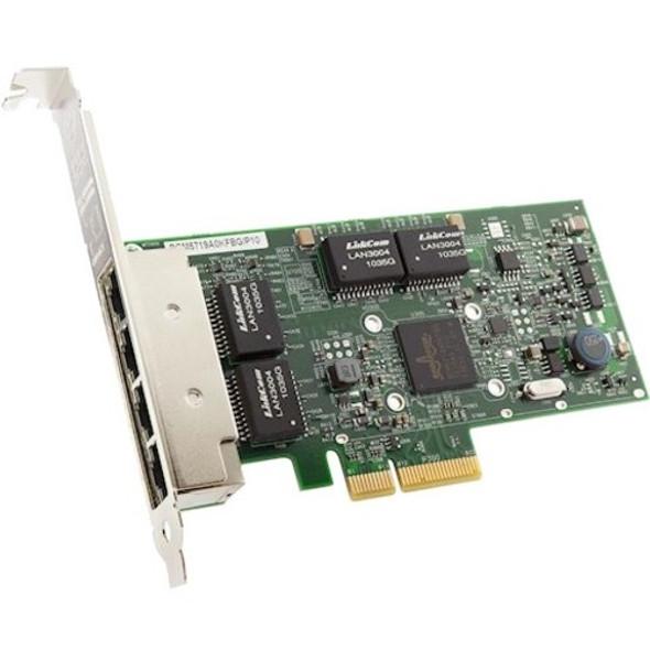 Lenovo Broadcom NetXtreme PCIe 1Gb 4-Port RJ45 Ethernet Adapter   7ZT7A00484