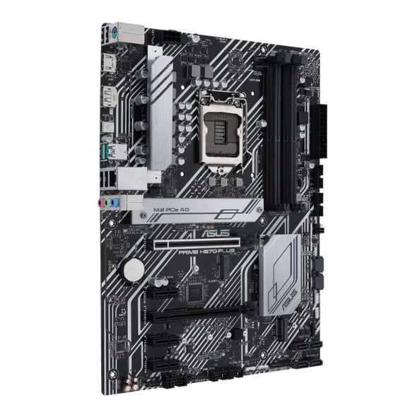 Asus Intel® H570 (LGA 1200) ATX motherboard with dual M.2, 8 power stages, Intel® 1 Gb Ethernet, DisplayPort, HDMI, USB 3.2 Gen 2 Type-C®, rear USB 3.2 Gen 2, Thunderbolt™ 4 header support, PCIe 4.0 | 90MB16M0-M0EAY0