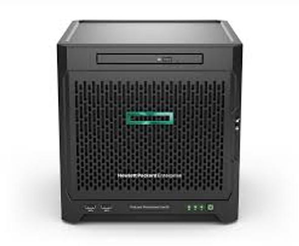 HPE ProLiant MicroServer Gen10 Plus E-2224 S100i 4LFF-NHP 180W External PS Server   P16006-421