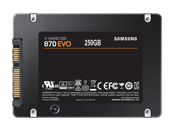 "Samsung SSD Sata 2.5"" 250GB EVO 870 | MZ-77E250BW"
