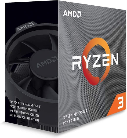 RYZEN 3 3100 AMD Processor with wraith Stealth Cooler