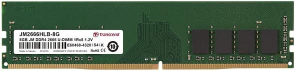 Transcend Memory Desktop DDR4,  8GB (2666)