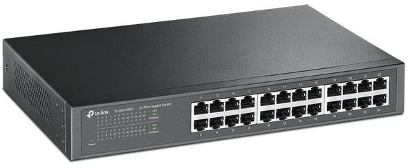 TP-Link Switch 24 Port Gigabit, Rackmountable | SG1024D