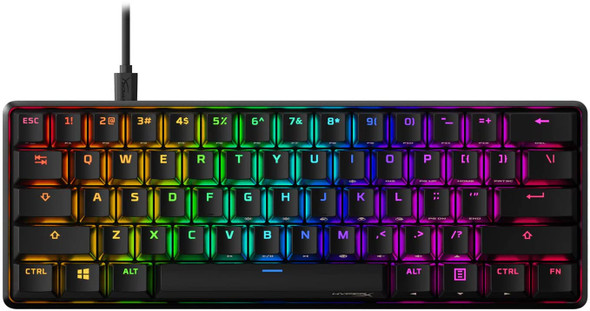 HyperX Alloy Origins 60 Mechanical Gaming Keyboard, HX Red-US | HKBO1S-RB-US/G