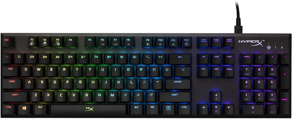 HyperX Alloy FPS RGB Mechanical Gaming Keyboard, Silver Speed US | HX-KB1SS2-US