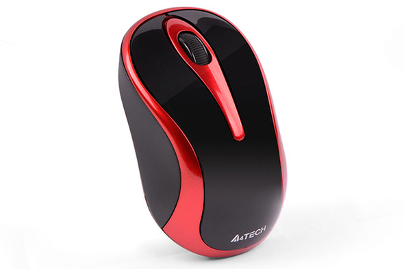 A4tech Wireless Mouse USB/Black+Red | G3280N2