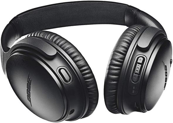 Bose QuietComfort 35 II Wireless Bluetooth Headphones, Noise-Cancelling, with Alexa Voice Control - Black (789564-0010)