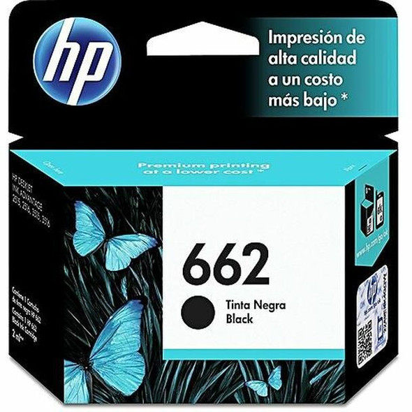 HP 662 Black Original Ink Advantage Cartridge