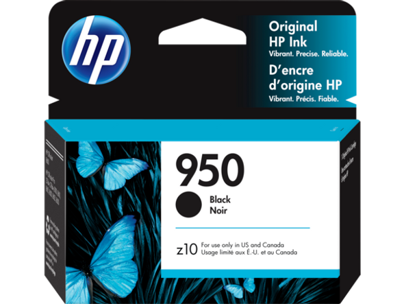 HP 950 Black High Yield Original Ink Cartridge