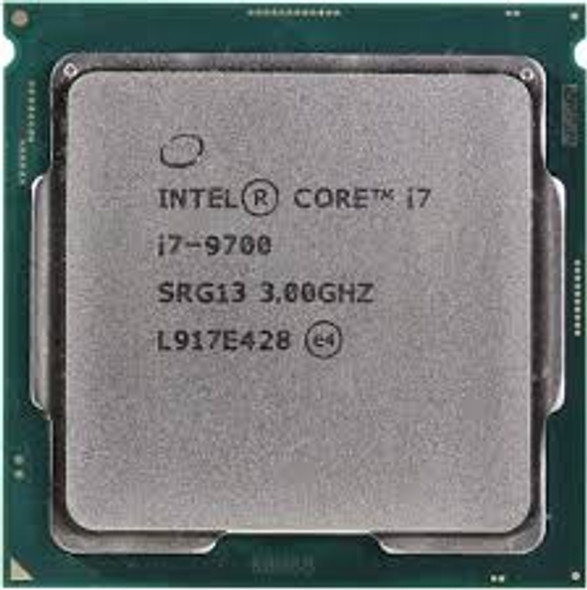 CPU Intel Core i7-9700 Tray Desktop Processor 8 Cores up to 4.9 GHz Turbo
