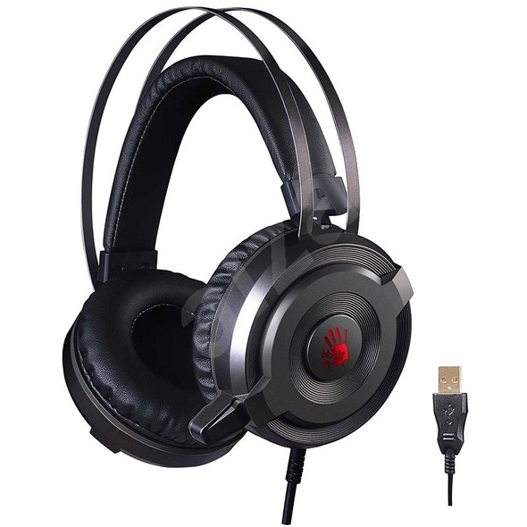Bloody Glare Gaming Headset 7.1 USB Grey | G520