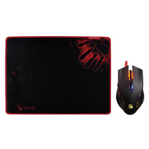 Bloody Gaming Mouse Bundle (Q50+B-081S), USB Black | Q5081S