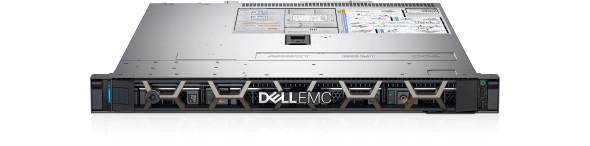 "PowerEdge R340 Rack Server Chassis 4 x 3.5""/Intel Xeon E-2224/8GB/1x600 GB/Bezel/DVD/iDRAC9/H330 Raid/Single PSU"