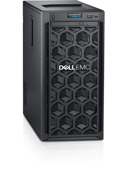 "Dell PowerEdge T140 Tower Server Chassis 4 x 3.5""/Intel Xeon E-E-2124/8GB/2TB /DVD/iDRAC9/Software Raid/Single PSU"