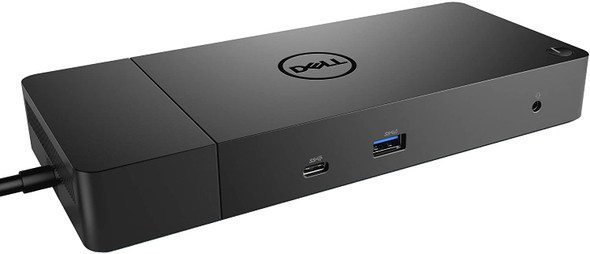 Dell WD19 130W Docking Station (with 90W Power Delivery) USB-C, HDMI, Dual DisplayPort, black
