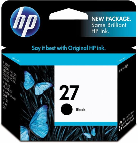 HP 27 Black Ink Cartridge
