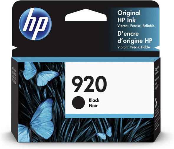 HP 920   Ink Cartridge   Black   CD971AN