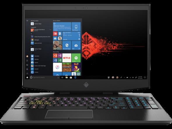 HP OMEN I7-10750H/16GB/512/1TB/RTX2070 Laptop   DH1065CL