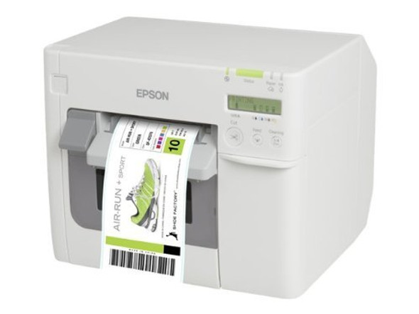 Epson ColorWorks C3500 (012CD) (incl. NiceLabel CD) Label Printer | C31CD54012CD