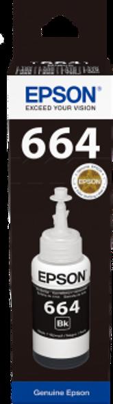 Epson Black ink bottle 70ml | C13T6641A10