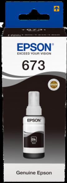 Epson Black ink bottle 70ml | C13T6731A10