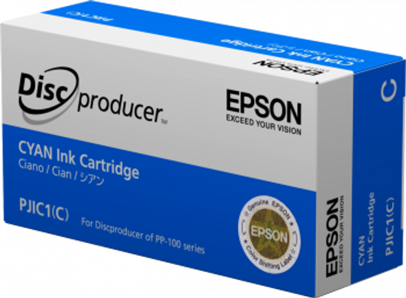 Epson Discproducer Ink Cartridge, Cyan   C13S020447