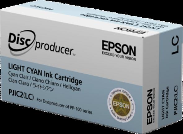 Epson Discproducer Ink Cartridge, Light Cyan   C13S020448