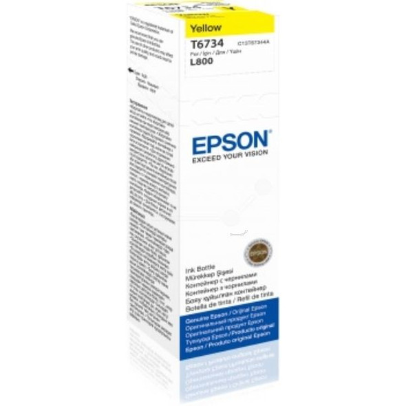 Epson Yellow Ink bottle 70ml | C13T67344A