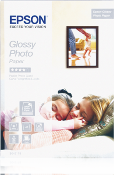 Epson Glossy Photo Paper, DIN A4, 225g/m², 20 Sheets | C13S042178