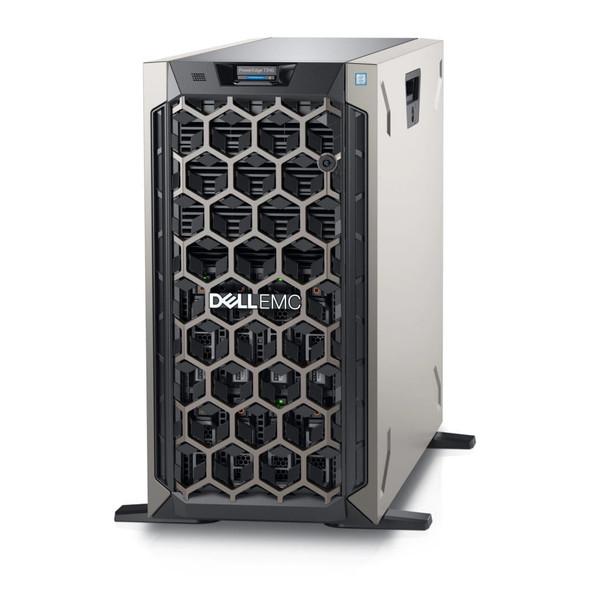 Dell PE T340/Chassis 8 x 3.5 HotPlug/Intel Xeon E-2224/8GB/1x2TB/Casters/Bezel/DVD RW/PERC H330/iDRAC9 Exp/495W/   PET340MM3