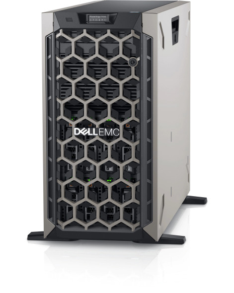 Dell PE T440/Chassis 8 x 3.5 HotPlug/Xeon Silver 4208/8GB/1x480GB SSD/Casters/Bezel/DVD RW/On-Board LOM DP/PERC H330+/iDRAC9 Exp/495W/   PET440MM1