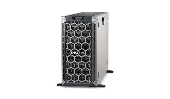 """Dell PE T640/Chassis 8 x 3.5""""/Xeon Silver 4208/8GB/1x480GB SSD/Casters/Bezel/DVD RW/On-Board 10GbE DP/PERC H330+/iDRAC9 Exp/Redundant 495W/   PET640MM1"""