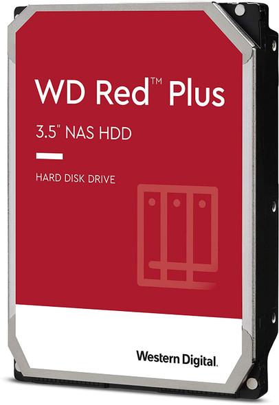 "Western Digital 14TB WD Red Plus NAS Internal Hard Drive HDD - 7200 RPM, SATA 6 GB/s, CMR, 512 MB Cache, 3.5"" | WD140EFGX"