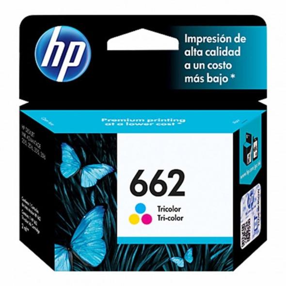 HP 662 Color Original Ink Advantage Cartridge