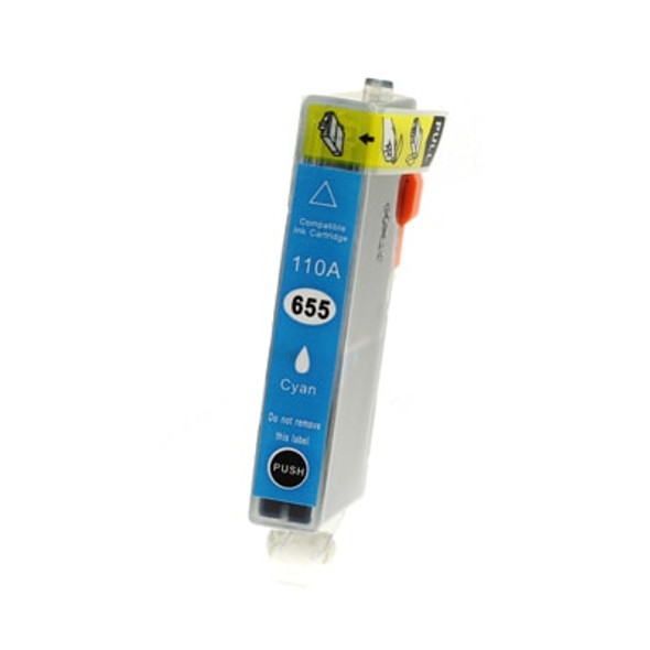 TechnoColor 655 Cyan HP Compatible INKJET Cartridge