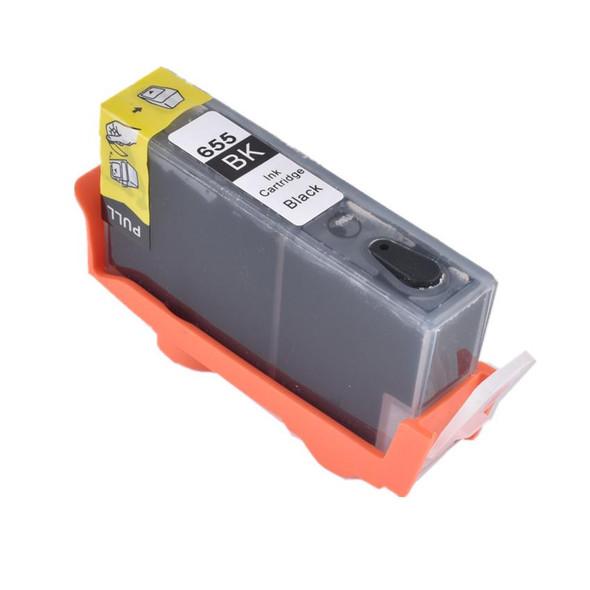 TechnoColor 655 Black HP Compatible INKJET Cartridge