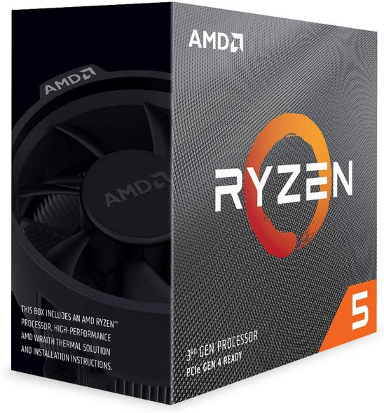 AMD Ryzen™  5 3600 with Wraith Stealth cooler 35MB 6C/12T