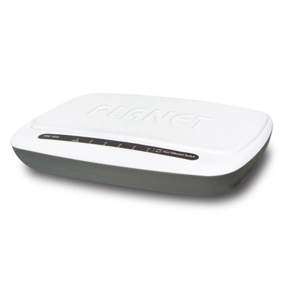 Planet 5-Port Desktop Fast Ethernet Switch | SW-504
