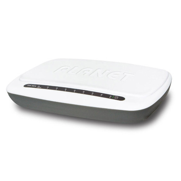 Planet 8-Port Desktop Fast Ethernet Switch | SW-804