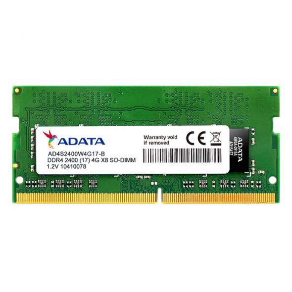 ADATA 4GB 2400 DDR4 SODIMM | AD4S2400W4G17R