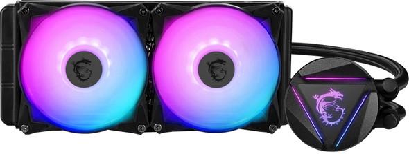 MSI MAG CORELIQUID RGB 240R Liquid Cooler Premium Edition   306-7ZW1B31-813
