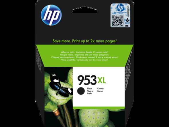 HP 953XL High Yield Black Original Ink Cartridge (L0S70AE)
