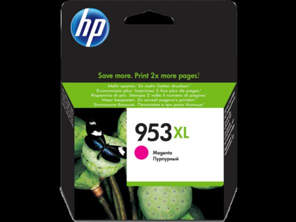 HP 953XL High Yield Magenta Original Ink Cartridge (F6U17AE)