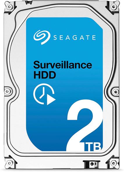 "Seagate Surveillance HDD 2TB 64MB Cache SATA 6.0Gb/s 3.5"" Internal Hard Drive   ST2000VX003"